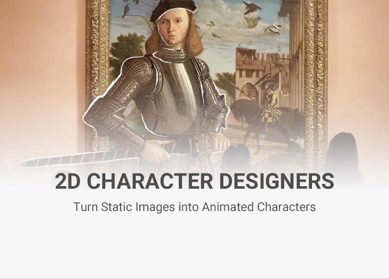 Cartoon Animator - the 2D animation software for 2D character designer