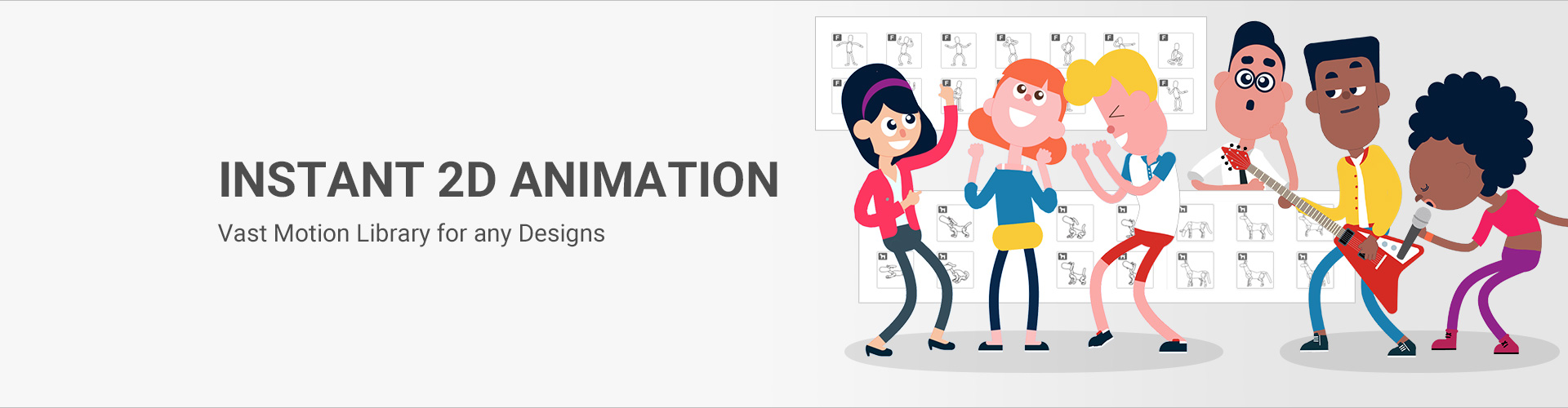 Cartoon Animator - the 2D animation software for character animation