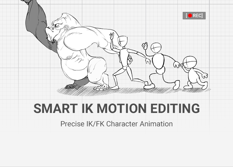 Cartoon Animator - the 2D animation software for smart IK animation